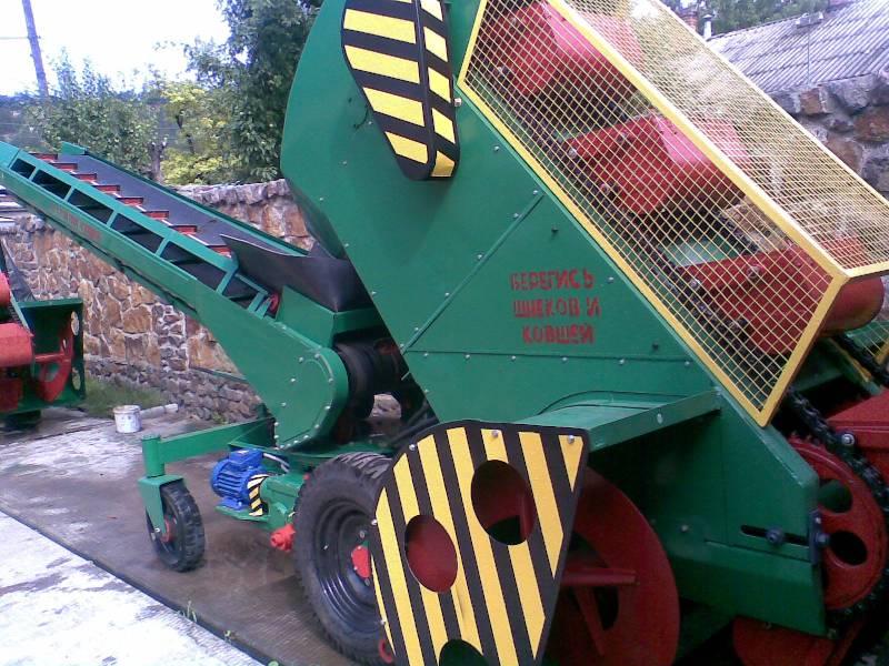 Механическая сеялка для зерна.  Продам зерновой погрузчик Р6-КШП-6.