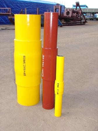 НЭМС - неразъемное изолирующее муфтовое соединение для газа Ду-25