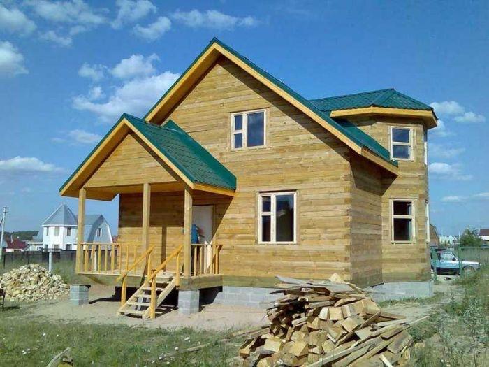 Мы изготавливаем брусовые и каркасно-щитовые дома