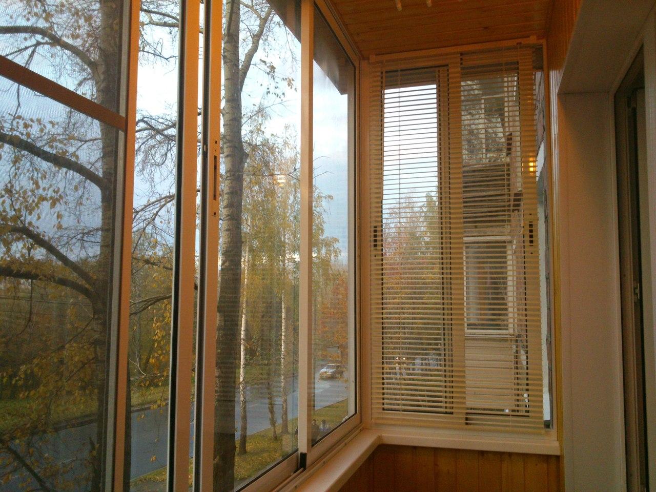 Окна пвх для балкона на роликах.