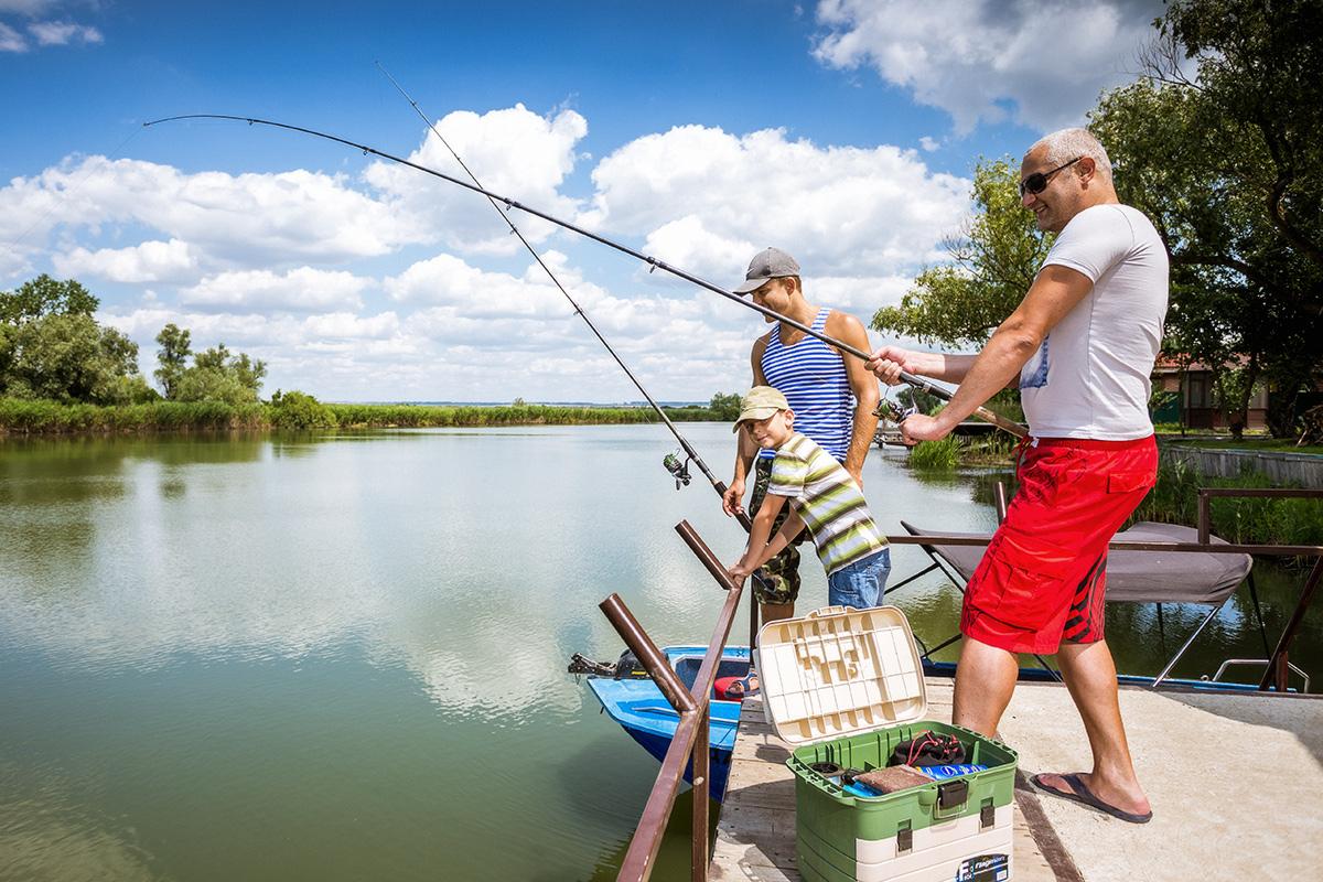 рекреационная рыбалка